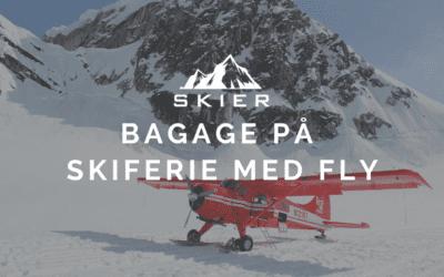 Bagage På Skiferien Med Fly