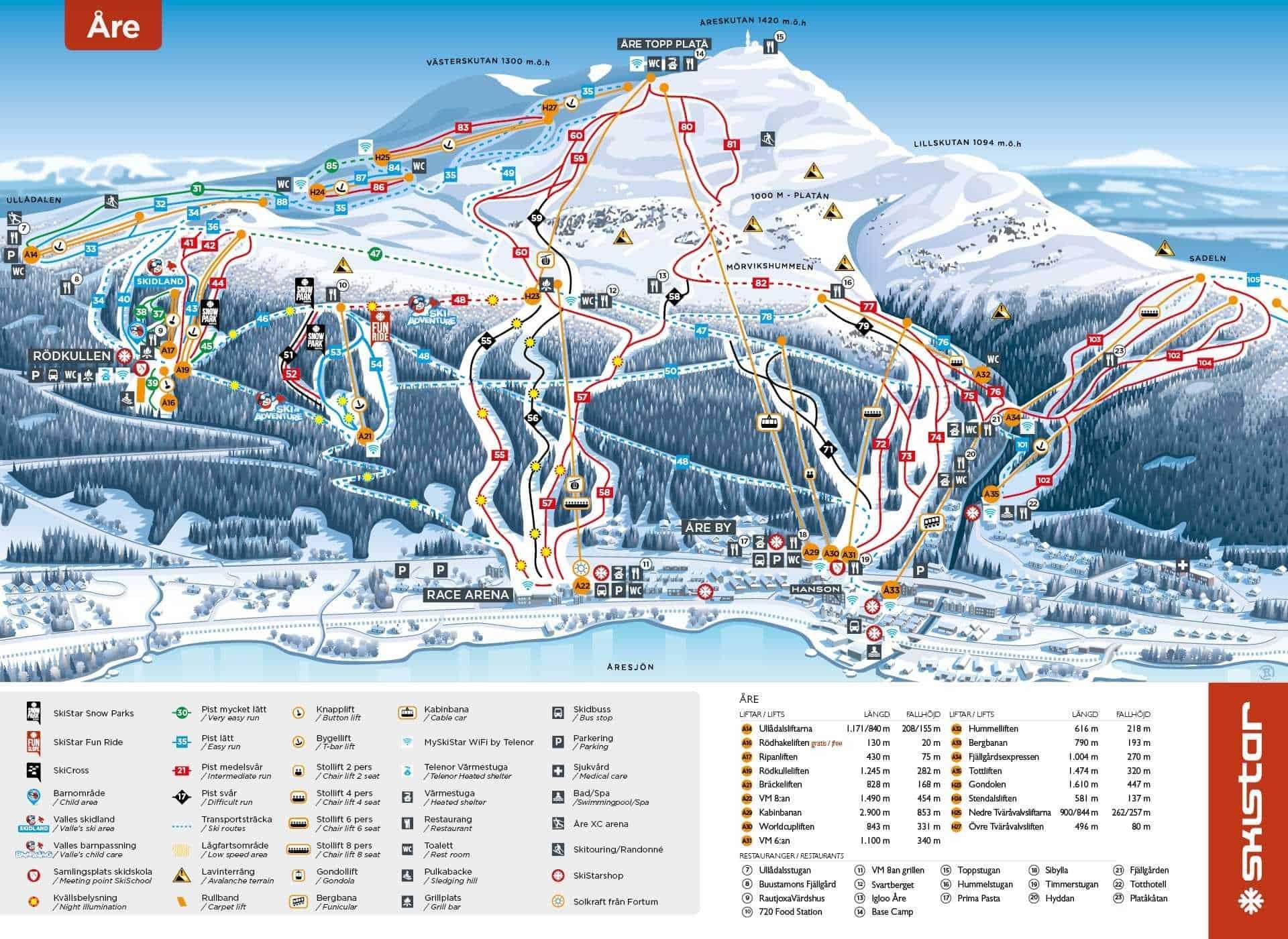 Are Ski Trail Map 2019 optimized