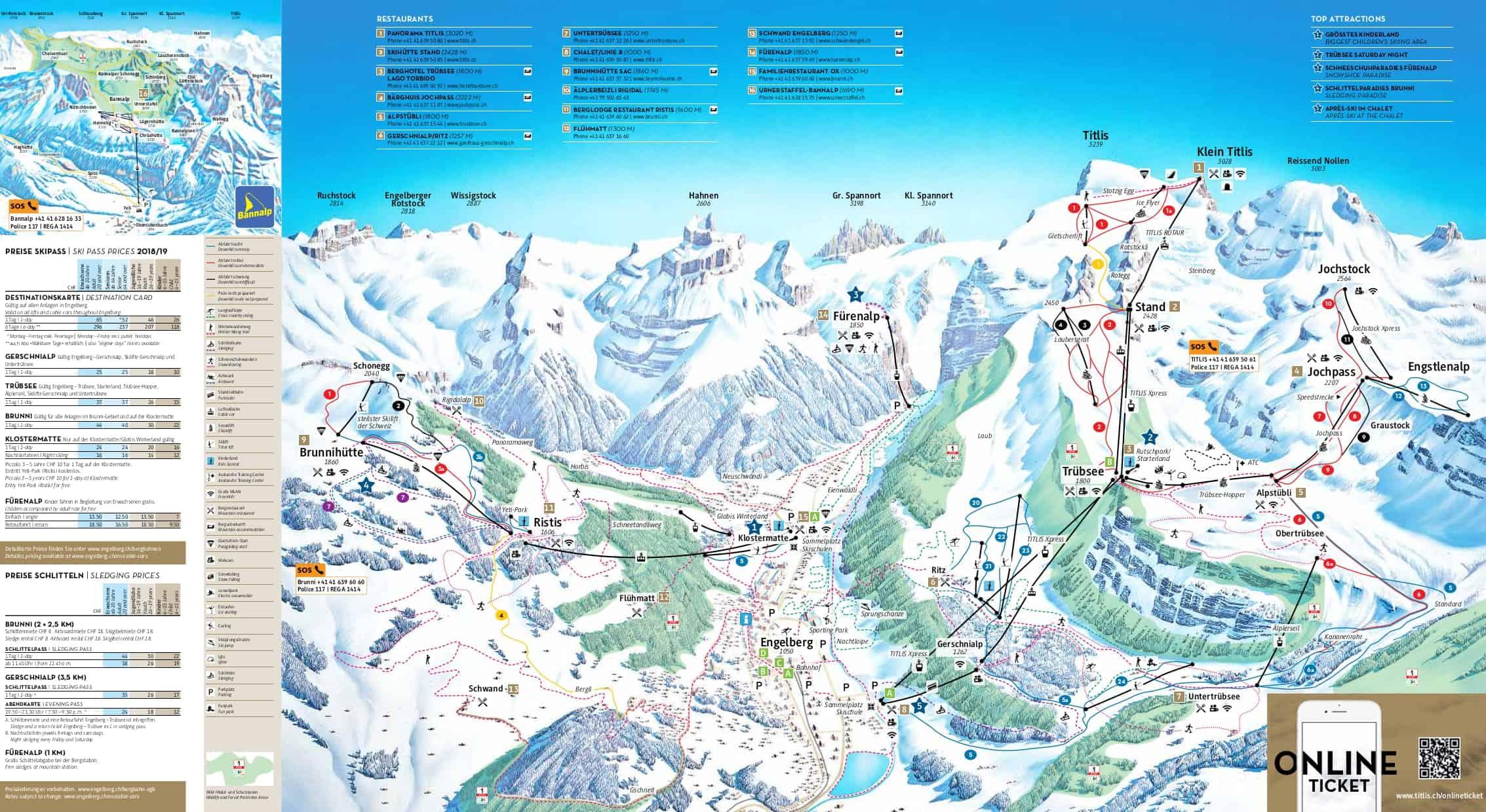 Engelberg Piste Map JPG