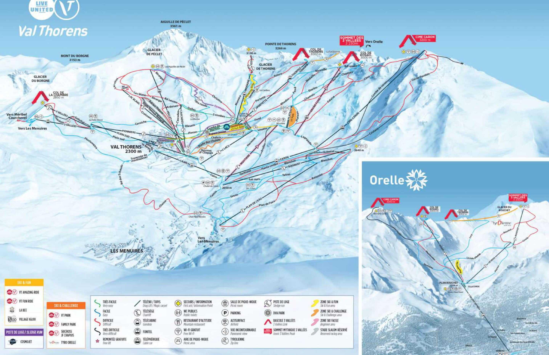Frankrig Val Thorens Piste Map 2020 1 scaled