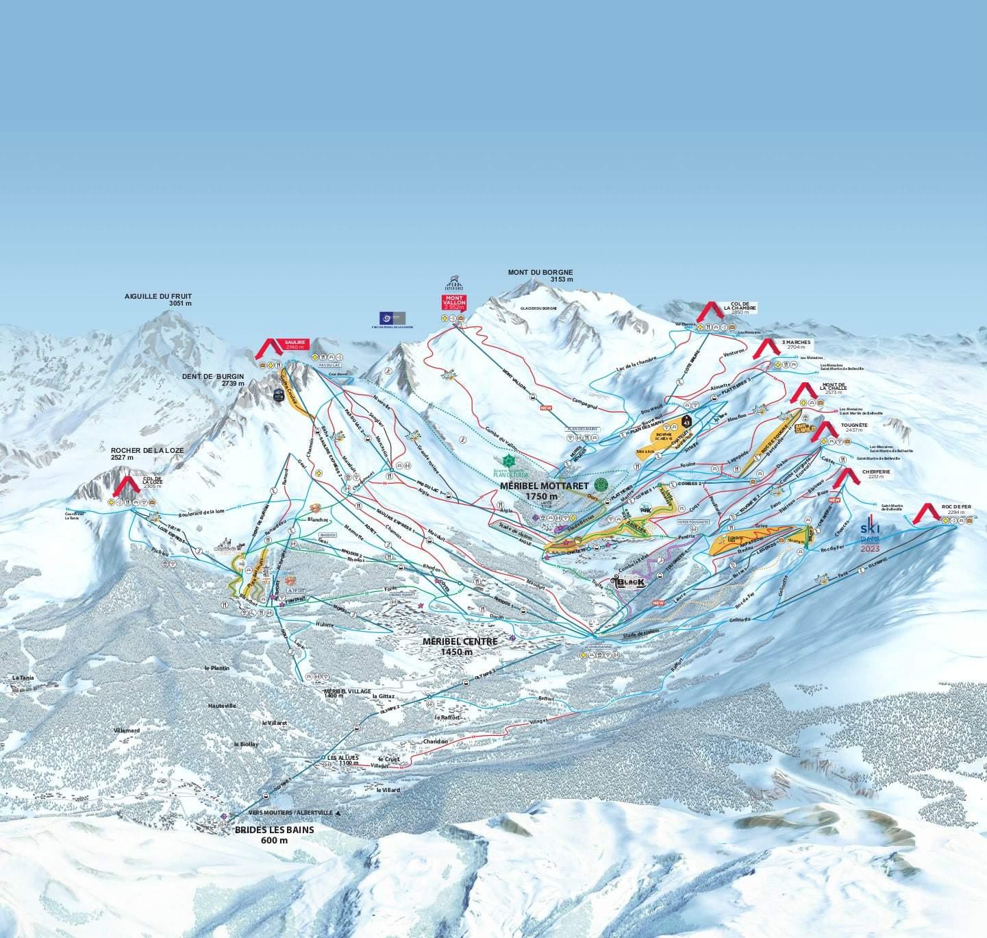 Meribel Mottaret Ski JPG