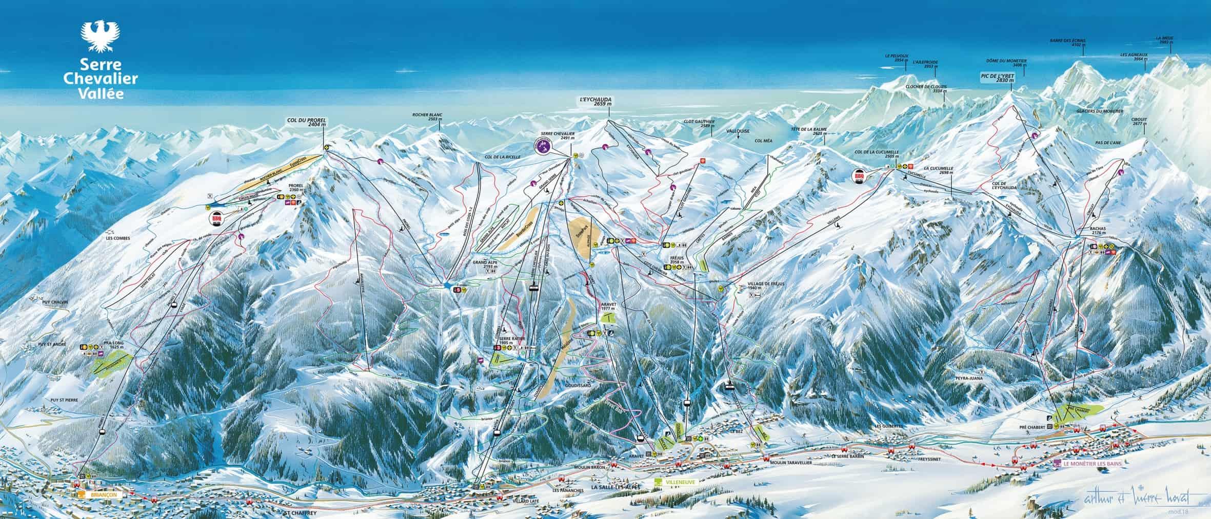Serre Chevalier Ski JPG