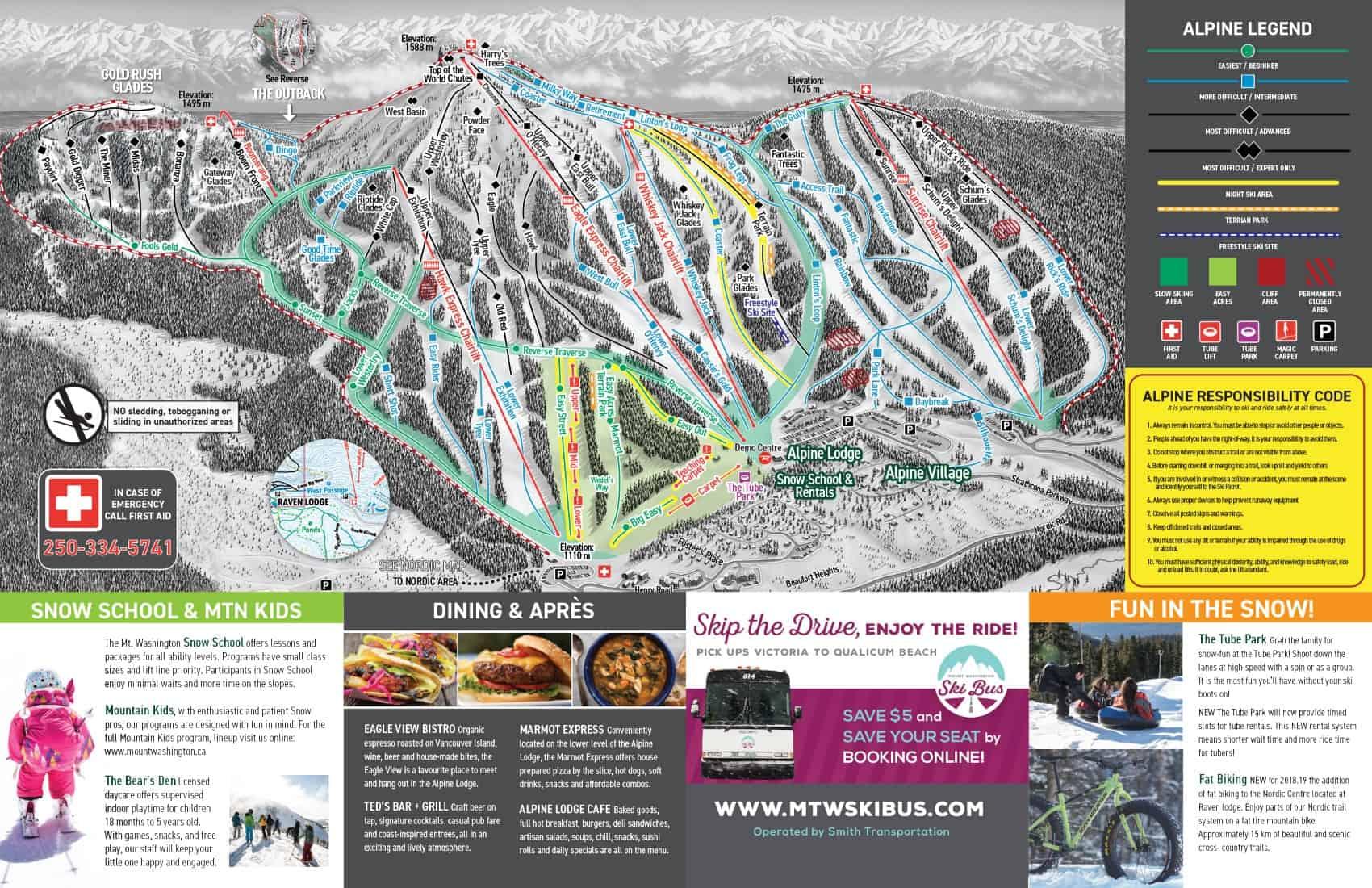 Mount Washington Pistekort JPG