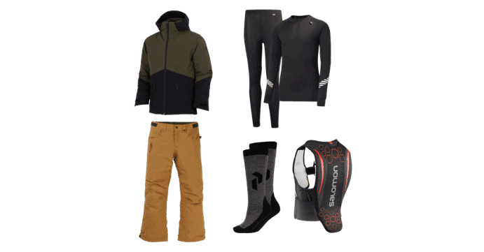 Snowboard tøj til børn