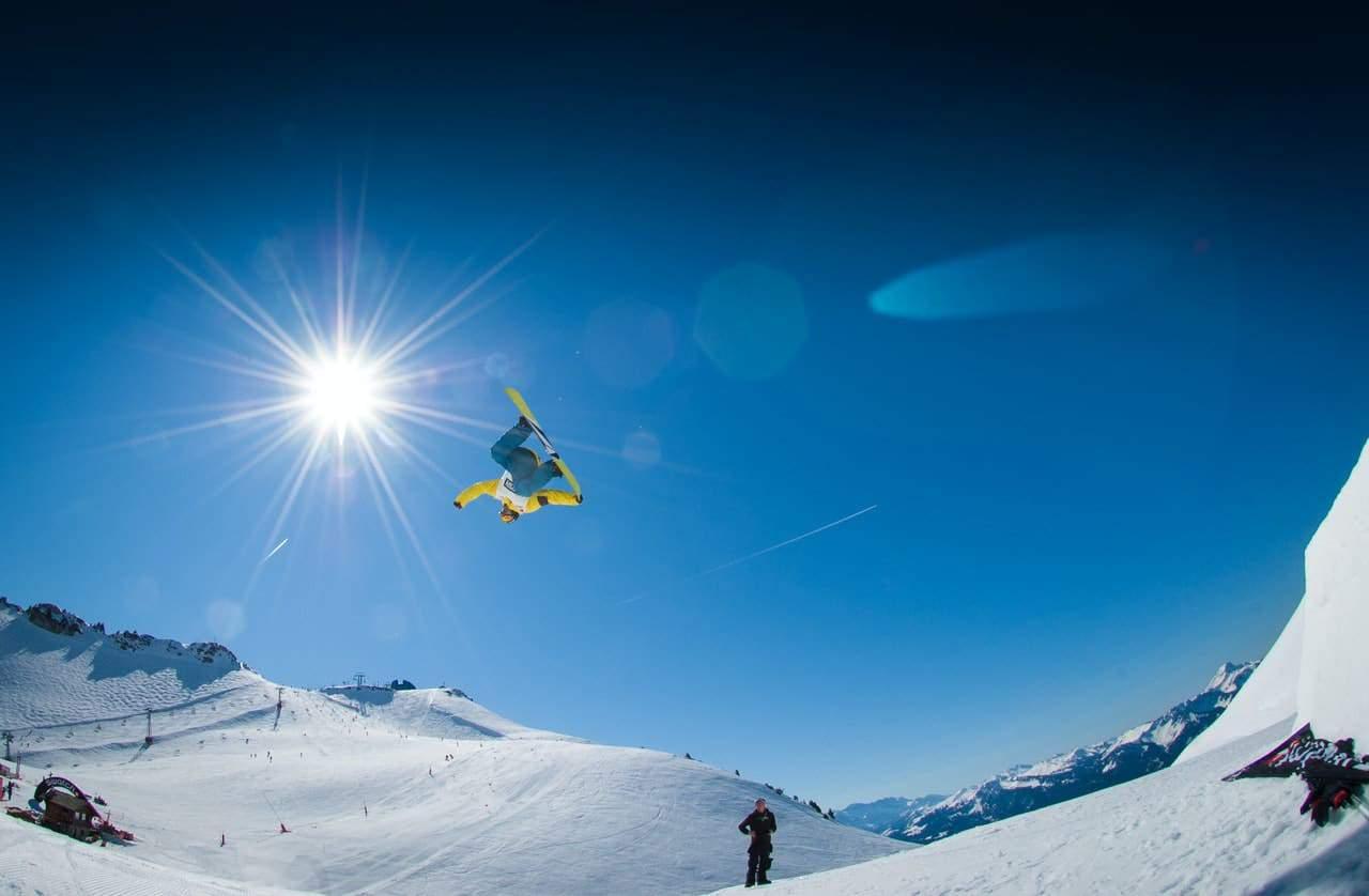 sunny alps snowboard bigair 38242 1