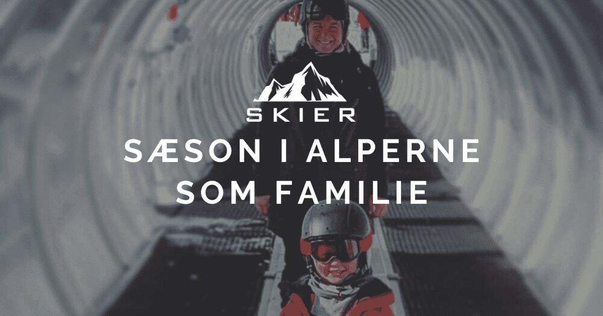 Sæson i Alperne Som Familie