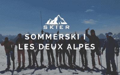 Sommerski i Les Deux Alpes