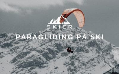Paragliding på ski